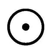 eridanoschool - Scuola di Astrologia - Glifo del sole
